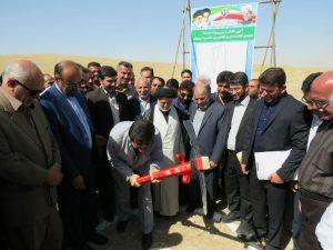 پروژه احداث مجتمع گلخانه ای لاسبید بهبهان با حضور استاندار خوزستان کلنگ زنی شد