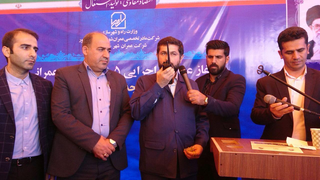 آغاز عملیات اجرایی 8 طرح صنعتی و عمرانی در شهرستان باوی با حضور استاندار خوزستان