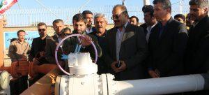 چهار طرح خدماتی در هندیجان در بخش های گاز و آبرسانی با حضور استاندار خوزستان به بهره برداری رسید