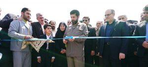 بهره برداری و کلنگ زنی دو پروژه آبرسانی و یک پروژه ایجاد شبکه فاضلاب در شهرستان کارون با حضور استاندار خوزستان