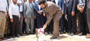 با حضور استاندار خوزستان عملیات اجرایی احداث نیروگاه ترکیبی اندیمشک آغاز شد