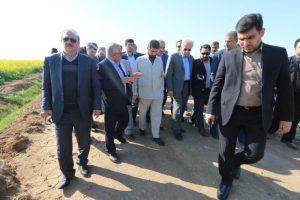 استاندار خوزستان: آب مورد نیاز فاز دوم طرح ۵۵۰ هزار هکتاری کشاورزی خوزستان تامین شد