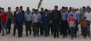 عملیات اجرایی آبرسانی به 14 روستای امیدیه با حضور استاندار خوزستان آغاز شد
