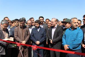 با حضور استاندار خوزستان انجام شد / بهرهبرداری و کلنگ زنی پروژه های راه در امیدیه