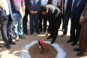 با حضور استاندار خوزستان /کلنگ احداث کارخانه تولید خوراک آماده طیور و دام در دزفول زده شد