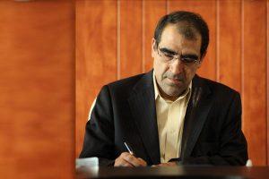وزیر بهداشت از عملکرد استاندار خوزستان در زمینه سلامت ابراز رضایت کرد