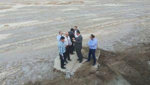 با دستور استاندار، کار آبگیری اراضی خشک تالاب هورالعظیم آغاز شد