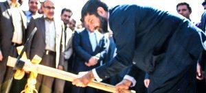 ساخت یک مجموعه فرهنگی ، تفریحی و تجاری در دزفول با حضور استاندار خوزستان آغاز شد