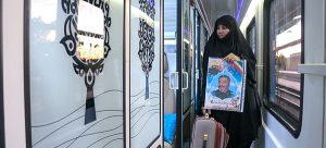 قطار 5 ستاره فدک در محور اهواز – تهران راه اندازی شد/ گزارش تصویری