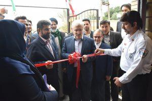 افتتاح پروژههای بهداشتی و درمانی آبادان با حضور وزیر بهداشت و استاندار خوزستان