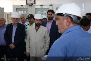 بهره برداری از خط انتقال برق ایستگاه زیگورات چغازنبیل به شوش