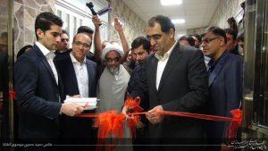 بیمارستان شهید بقایی ۲ اهواز با حضور وزیر بهداشت و استاندارخوزستان افتتاح شد