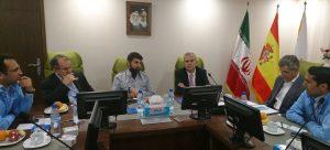 دیدار سفیر اسپانیا با استاندار خوزستان / کارخانه یک و نیم میلیون تنی تولید اسلب فولادی از طریق فاینانس کشور اسپانیا در خرمشهر احداث می شود