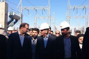 گزارش تصویری/ افتتاح بخش گاز نیروگاه خصوصی سیکل ترکیبی بهبهان
