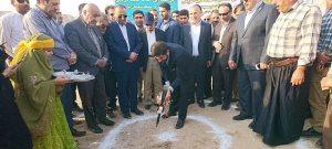 با حضور استاندار خوزستان / آئین کلنگ زنی پروژه احداث گنجینه تاریخی صنعت نفت در مسجدسلیمان برگزار شد