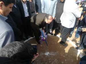 با حضور وزیر ورزش و استاندار خوزستان / عملیات اجرایی ساخت بزرگترین مجموعه ورزشی شمال استان آغاز شد