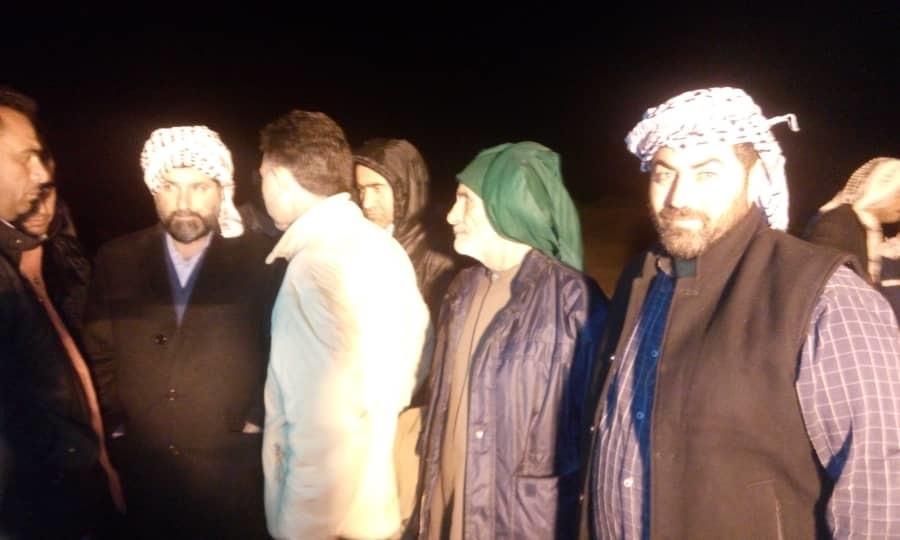 بازدید استاندار خوزستان از محل شکستگی سیل بند رود عمیه