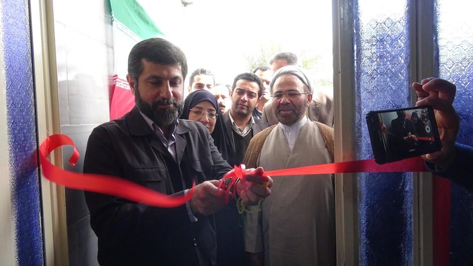 افتتاح خانه عالم و بازدید از پروژه ساخت دارالقرآن بخش سویسه کارون
