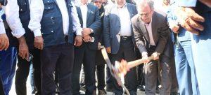 عملیات اجرایی 5 طرح اقتصادی با حضور سرپرست وزارت کار و استاندار خوزستان در ماهشهر آغاز شد