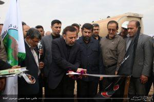 گزارش تصویری / عملیات مالچ پاشی توام با نهالکاری 11 هزار هتکار از شن زارها و بیابانهای خوزستان